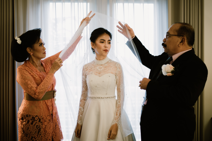 The Wedding of Yudic & Gloria by Historia Wedding Planner - 006