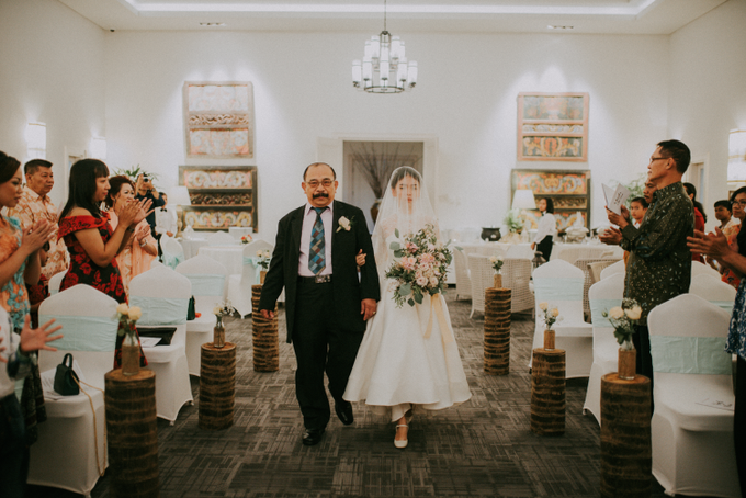 The Wedding of Yudic & Gloria by Historia Wedding Planner - 009