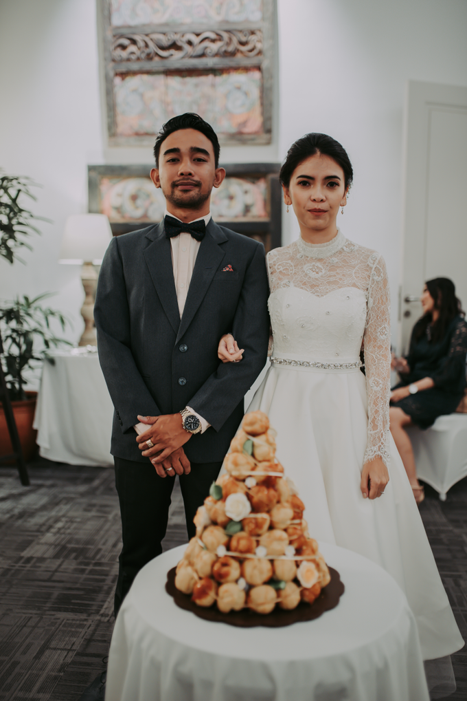 The Wedding of Yudic & Gloria by Historia Wedding Planner - 022