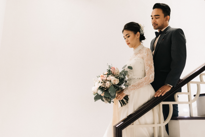 The Wedding of Yudic & Gloria by Historia Wedding Planner - 023