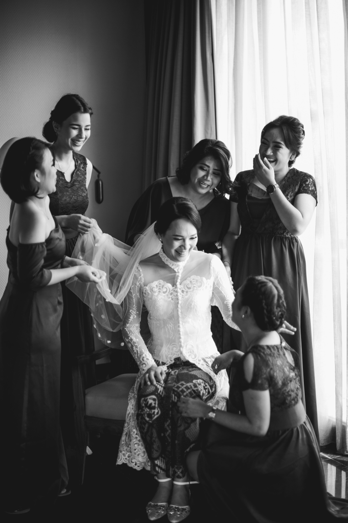 The Wedding of Mikha & Angie by Historia Wedding Planner - 005