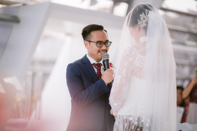 The Wedding of Mikha & Angie by Historia Wedding Planner - 009