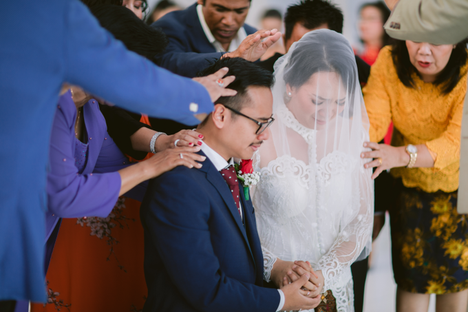 The Wedding of Mikha & Angie by Historia Wedding Planner - 017