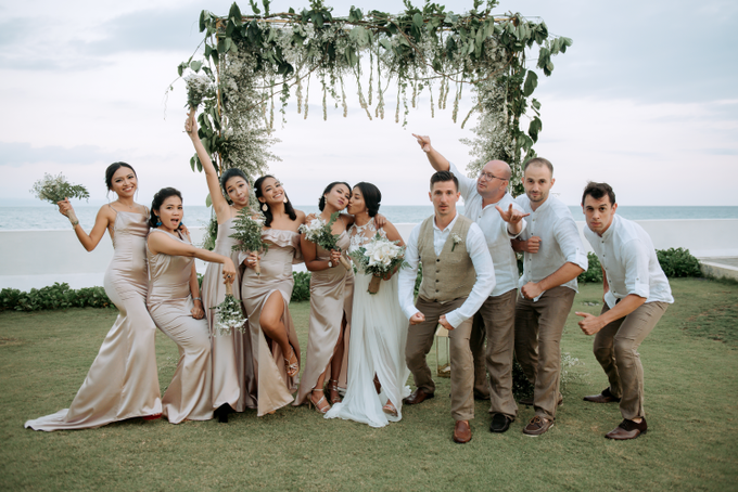 The Wedding of Marc & Tia by Historia Wedding Planner - 030