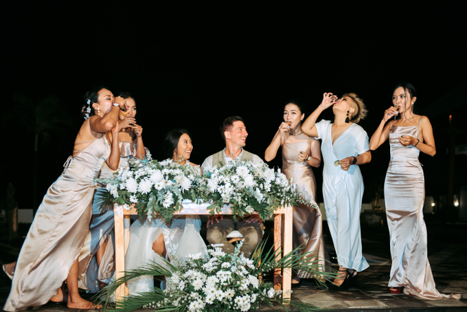 The Wedding of Marc & Tia by Historia Wedding Planner - 036