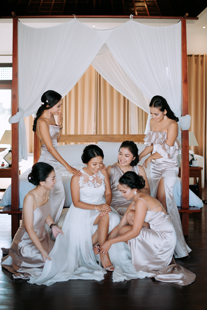 The Wedding of Marc & Tia by Historia Wedding Planner - 045