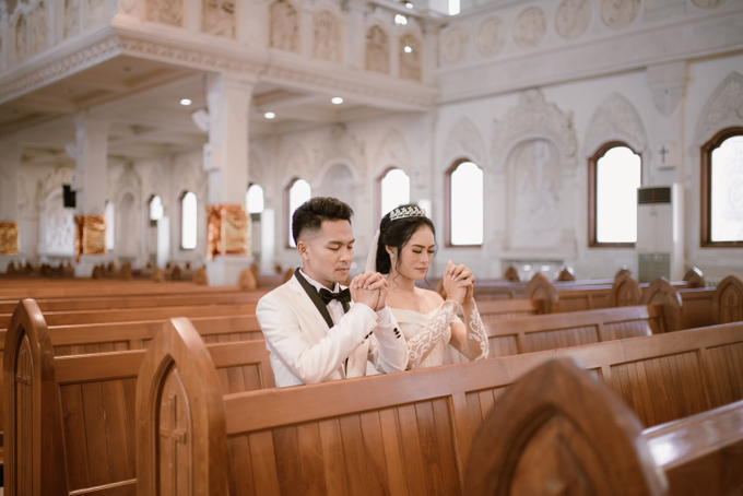 The Wedding of Anton & Lely by Historia Wedding Planner - 017
