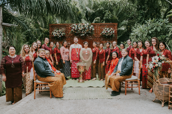 The Wedding of David & Yana by Historia Wedding Planner - 001