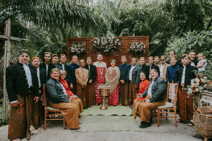 The Wedding of David & Yana by Historia Wedding Planner - 002