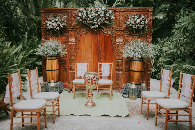 The Wedding of David & Yana by Historia Wedding Planner - 008