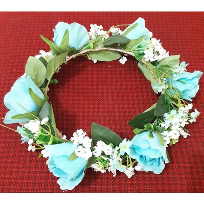 Flower Crown / Bando Bunga / Mahkota Bunga by Estrella Flower Crown - 022