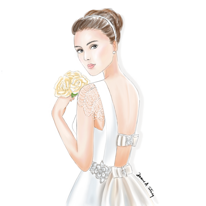 Bridal Illustrations by Draw A Story - 006