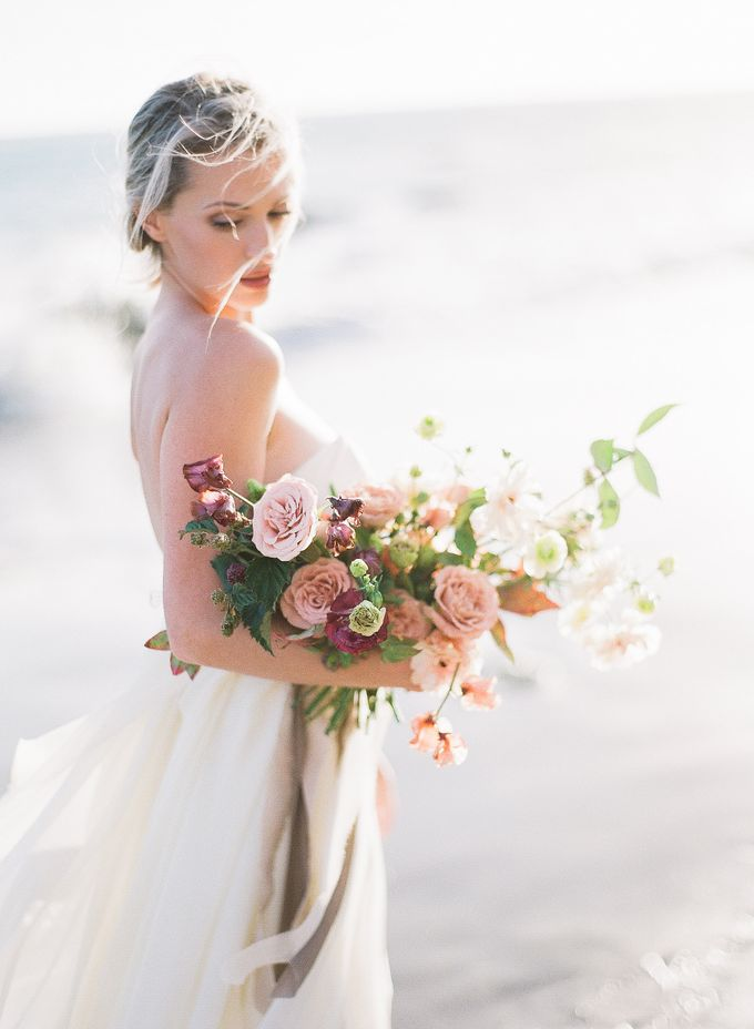 Sunset Elopement Inspiration on Malibu Coast by Honour and Blessing Events - 010