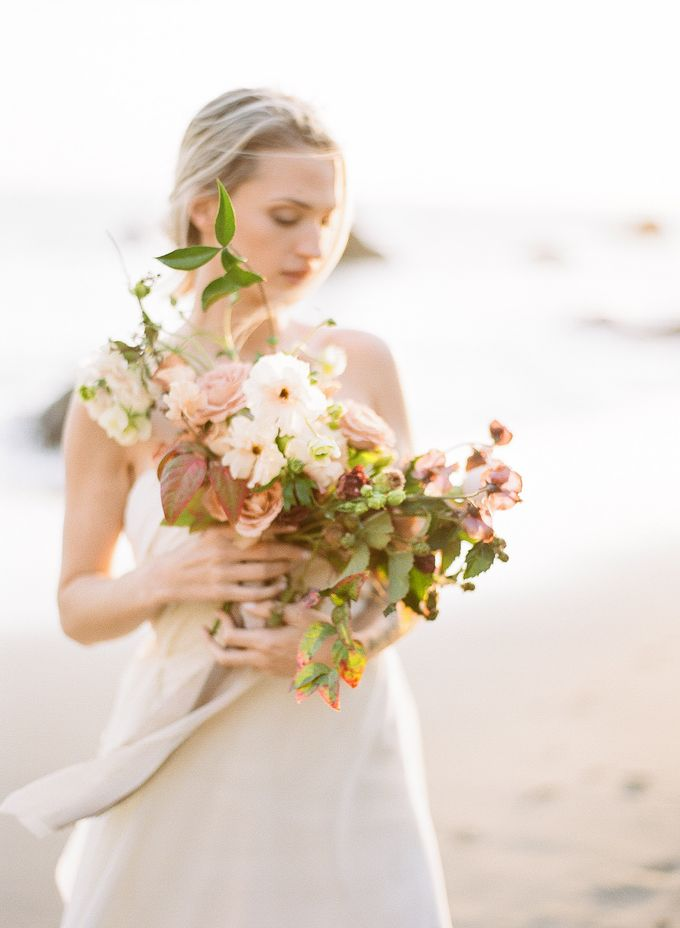 Sunset Elopement Inspiration on Malibu Coast by Honour and Blessing Events - 020