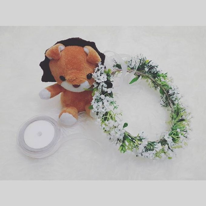 Flower Crown / Bando Bunga / Mahkota Bunga by Estrella Flower Crown - 014