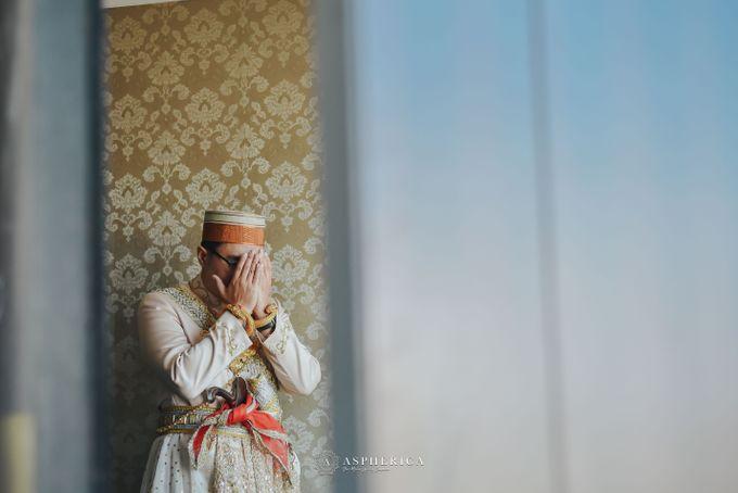 The New Normal Wedding Of Winda & Rizal by HENRY BRILLIANTO - 011