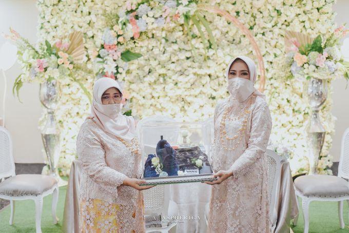 The New Normal Wedding Of Winda & Rizal by HENRY BRILLIANTO - 019