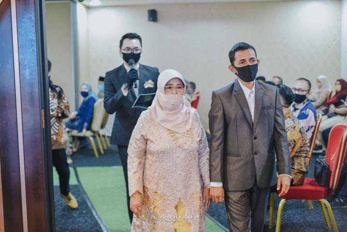 The New Normal Wedding Of Winda & Rizal by HENRY BRILLIANTO - 008
