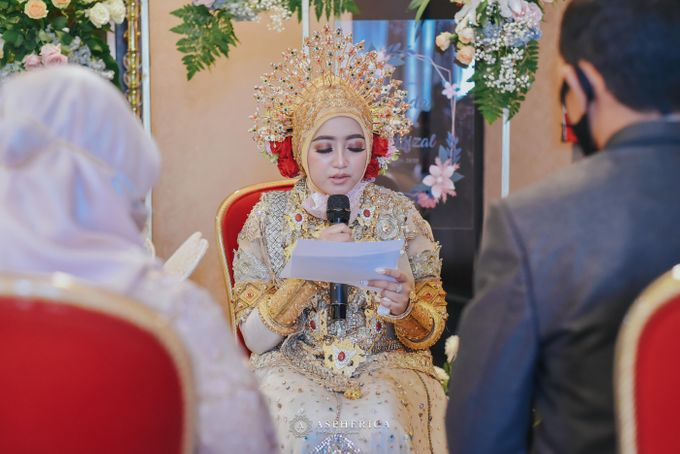 The New Normal Wedding Of Winda & Rizal by HENRY BRILLIANTO - 005