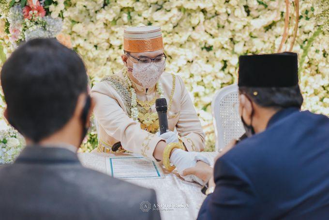 The New Normal Wedding Of Winda & Rizal by HENRY BRILLIANTO - 015