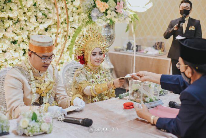 The New Normal Wedding Of Winda & Rizal by HENRY BRILLIANTO - 018