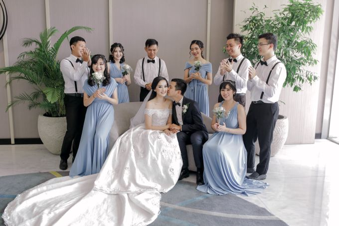 BRIDESMAID DRESS INFINITY DRESS by Infibrides ID - 005