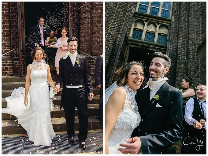 Italian Wedding in Grevenbroich Germany by Chris Yeo Photography - 013