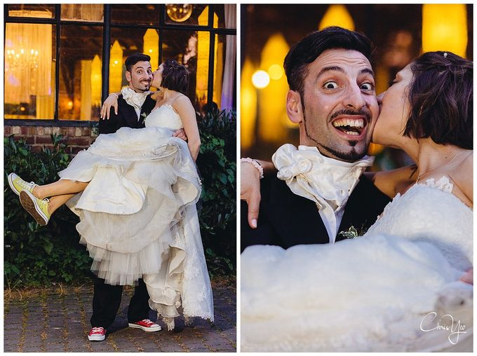 Italian Wedding in Grevenbroich Germany by Chris Yeo Photography - 032