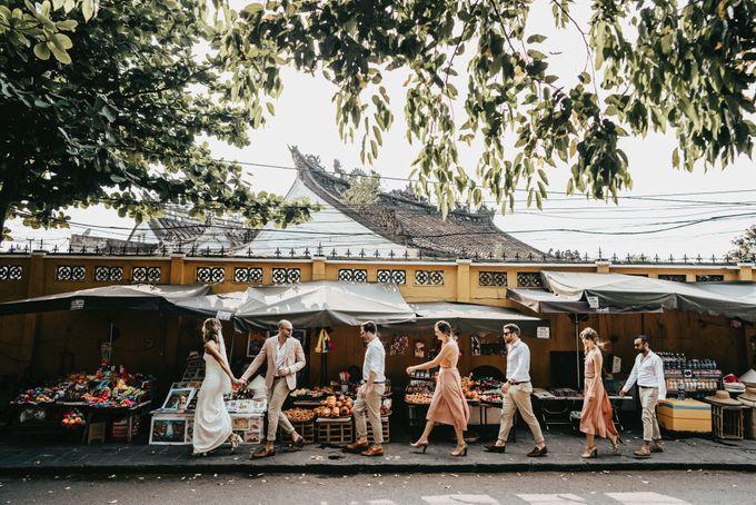 Hoi An destination cozy wedding in the garden of Red Bridge Restaurant by Hipster Wedding - 006