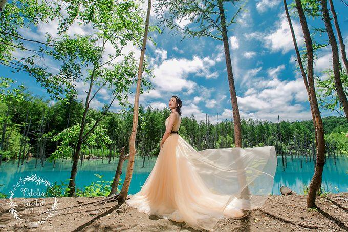Hokkaido pre wedding photography by Odelia Bridal - 010