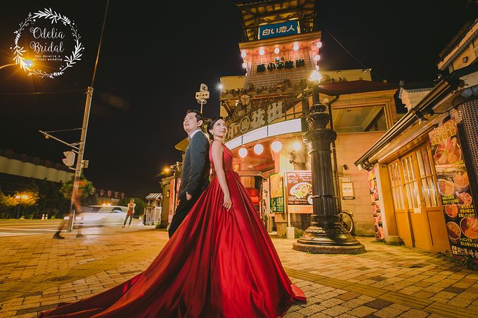Hokkaido pre wedding photography by Odelia Bridal - 015