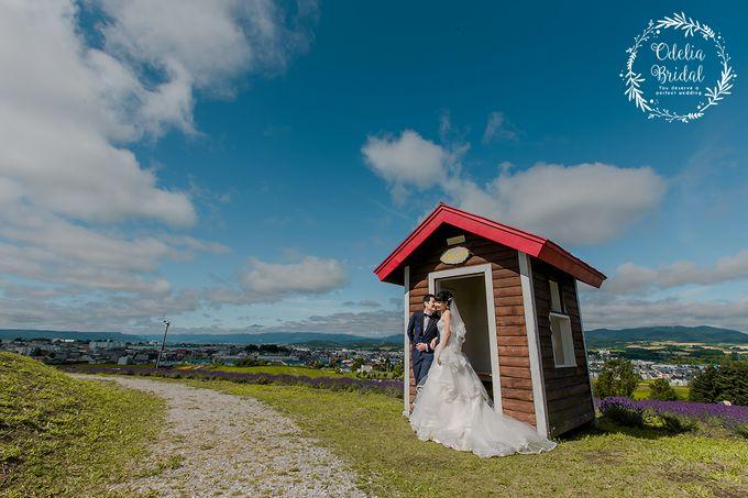 Hokkaido pre wedding photography by Odelia Bridal - 004