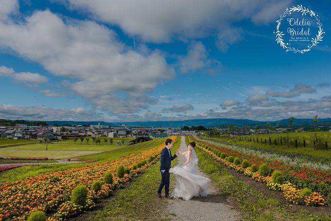 Hokkaido pre wedding photography by Odelia Bridal - 005