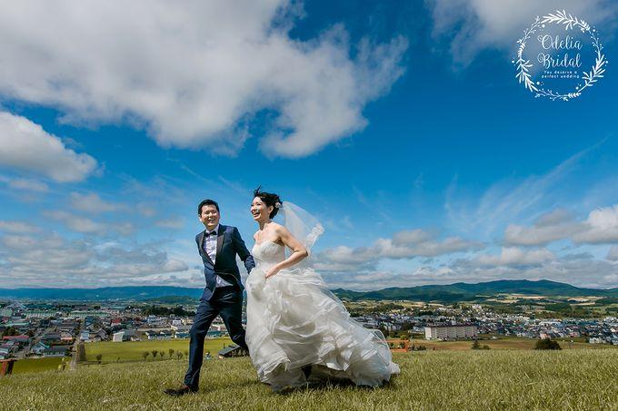 Hokkaido pre wedding photography by Odelia Bridal - 006