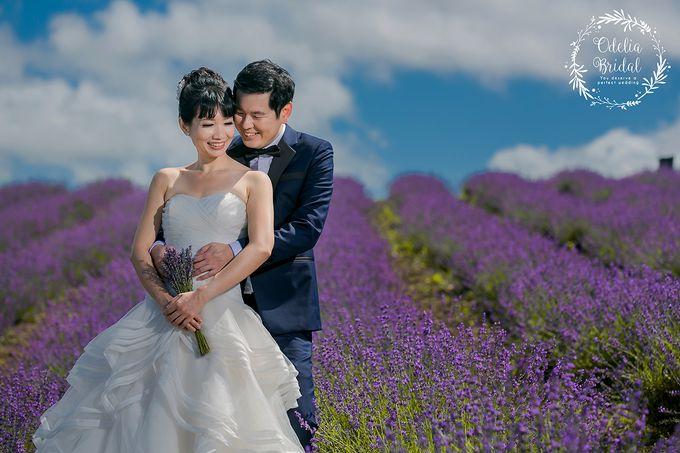 Hokkaido pre wedding photography by Odelia Bridal - 007
