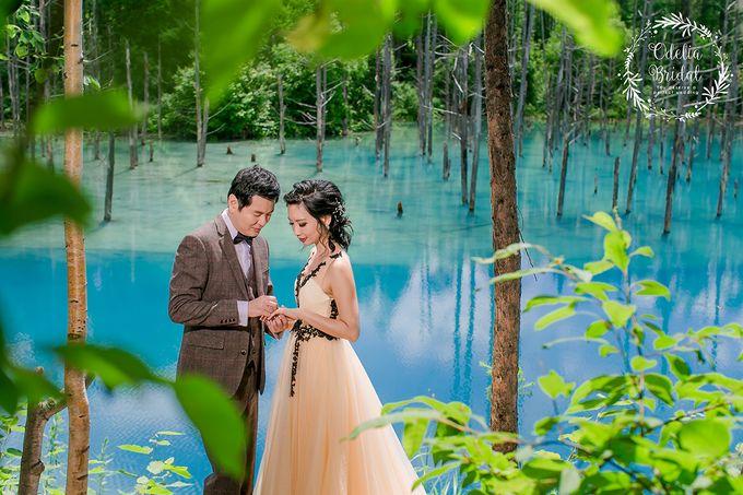 Hokkaido pre wedding photography by Odelia Bridal - 008