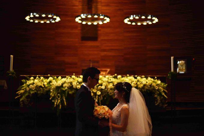 Holy Matrimony of Sebastian & Sheila by Kayika Wedding Organizer - 006