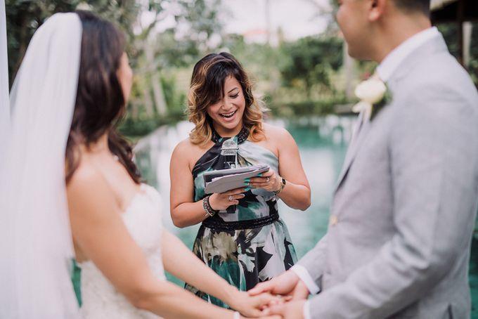 BALI VILLA WEDDING by Maxtu Photography - 015