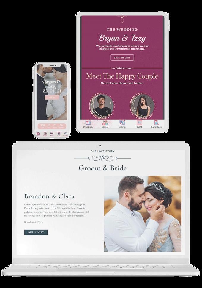 Undangan Pernikahan Digital Website by Ikatan Hati - 003