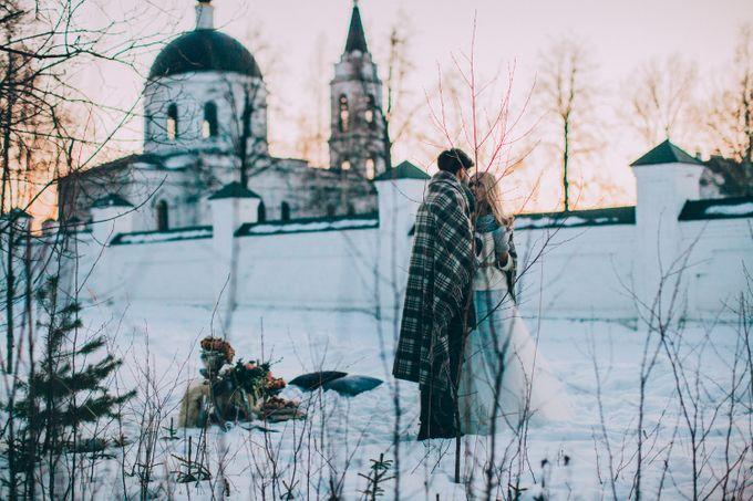 Wedding In Gzhel Style by Marina Nazarova Photographer - 044