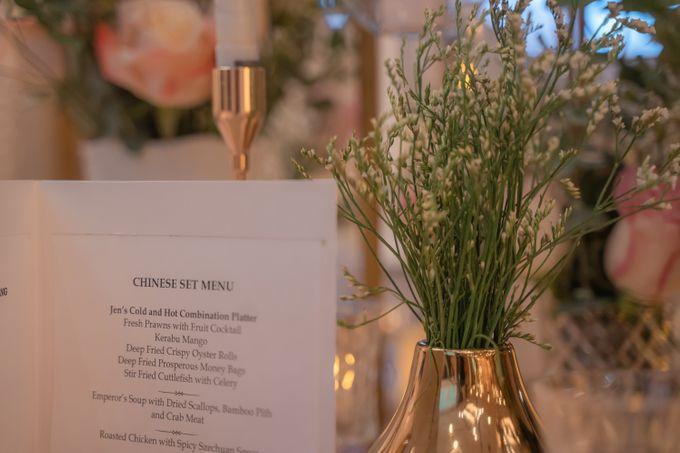 Wedding Reception Banquet by Hotel Jen Penang by Shangri-la - 004