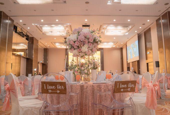 Wedding Reception Banquet by Hotel Jen Penang by Shangri-la - 005