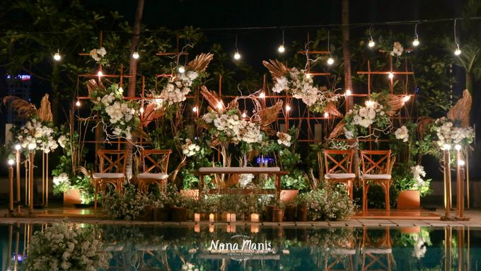 Ririn & Egi Wedding Decoration by Sparks Luxe Jakarta - 003