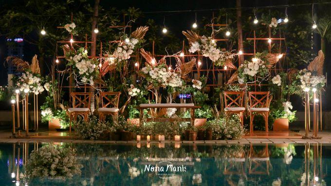 Ririn & Egi Wedding Decoration by Sparks Luxe Jakarta - 004