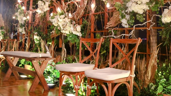 Ririn & Egi Wedding Decoration by Nona Manis Creative Planner - 006