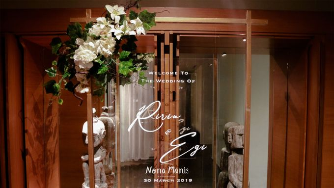Ririn & Egi Wedding Decoration by Nona Manis Creative Planner - 008