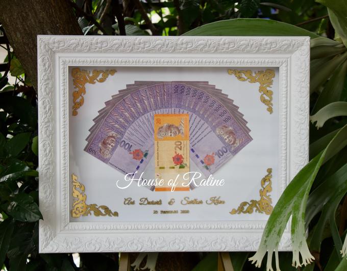 Frame Mahar Full Laser Cut by House of Raline Wedding Hampers - 006