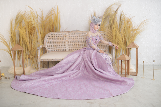 Sriwedari Gown by House of Violla - 001