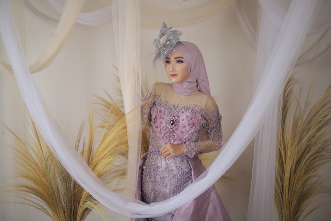 Sriwedari Gown by House of Violla - 003