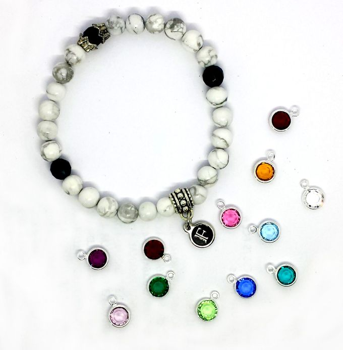 Custom Birthstone and Zodiac Bracelets by FixationShop - 002